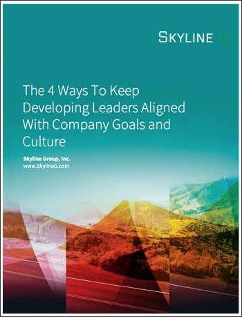 The 4 Ways To Keep Developing Leaders Aligned With Company Goals and Culture