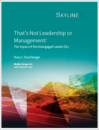 The Impact of the Disengaged Leader